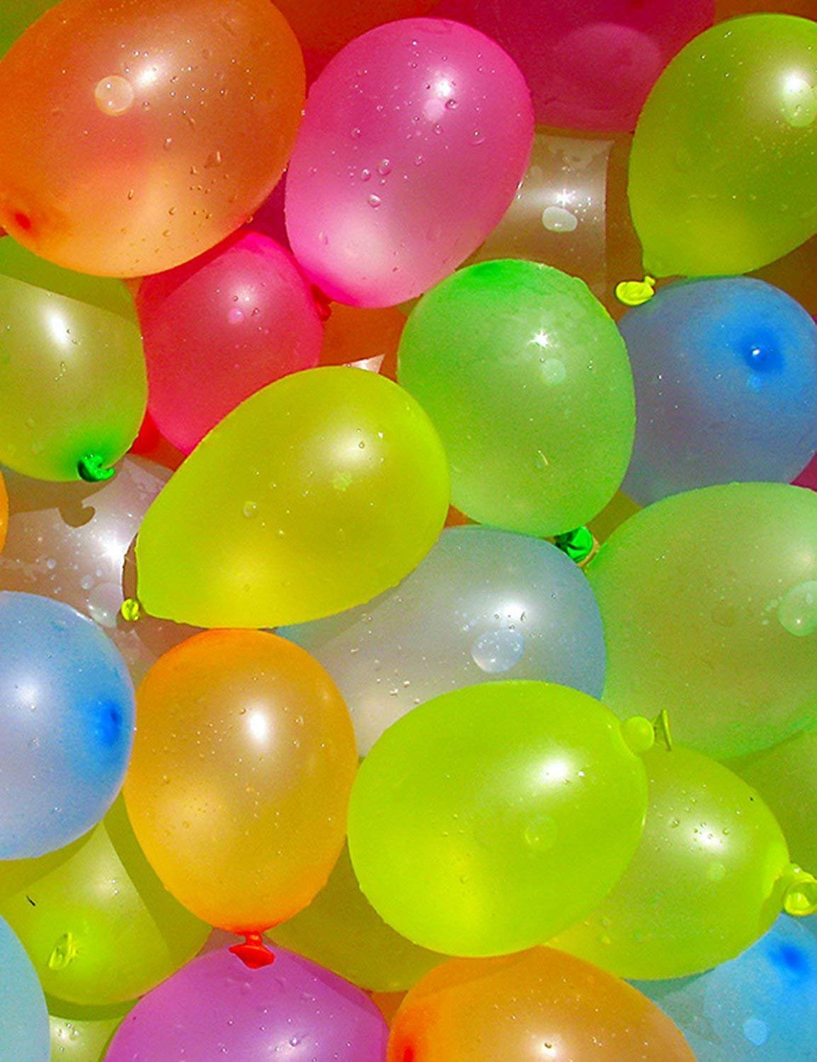 Water Balloons for Kids Girls Boys Balloons Set Party Games Quick Fill Water Balloons 594 Bunches Swimming Pool Outdoor Summer Fun A6 by Magic balloons (Image #6)
