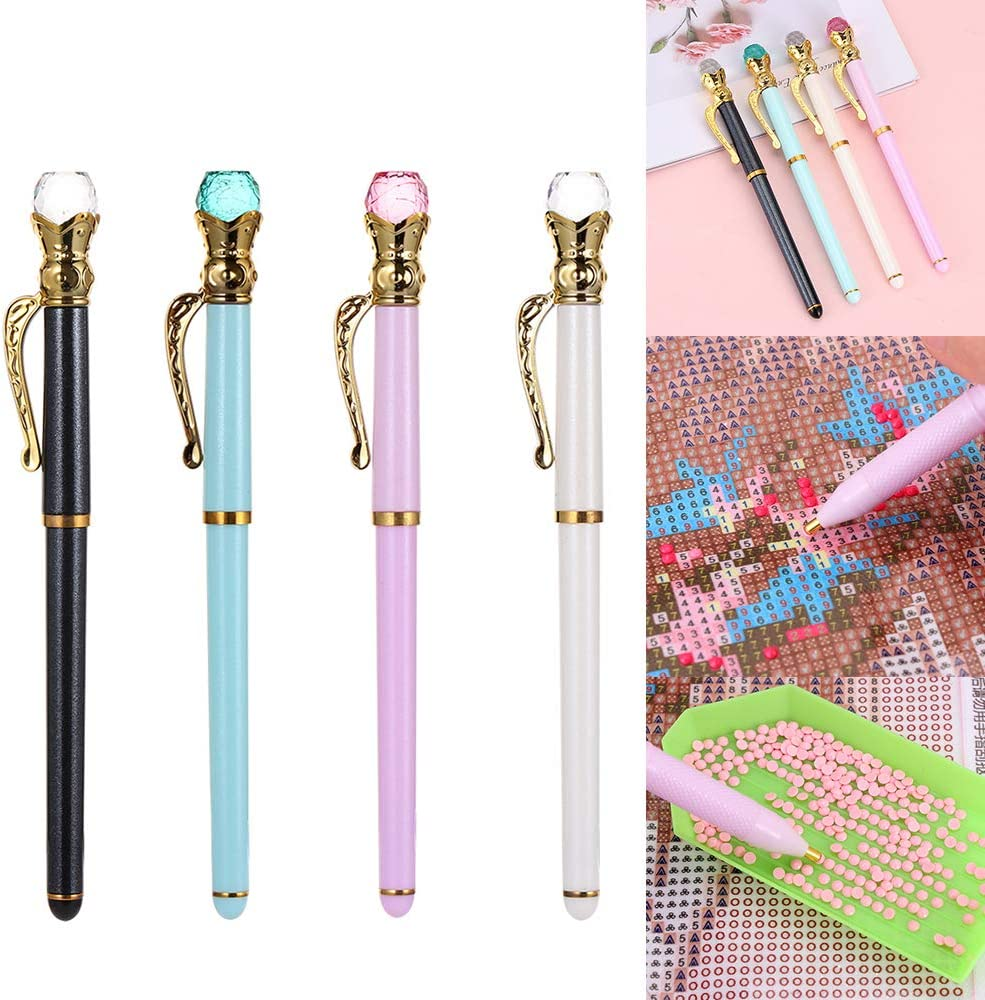 5D Diamond Painting Cross Stitch Embroidery Nail Art Point Drill Pen DIY Craft