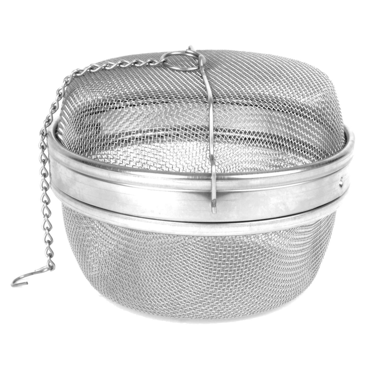 Restaurant Essentials 13 centimeter stainless steel tea ball, comes in each by Restaurant Essentials