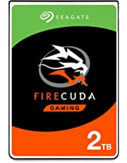 Seagate FireCuda ST2000LX001 Internal solid state hybrid hard disk (2TB, SSHD) for PC and PS4