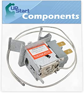 5304513033 Freezer Temperature Control Replacement for Gibson GFU20F5AW4 - Compatible with 216715200 Control Thermostat