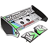 Kyosho 1/8 Inferno MP9 TKI3 RS * BLACK & GREEN BUGGY WING & DECALS, Deck TKI2 WC