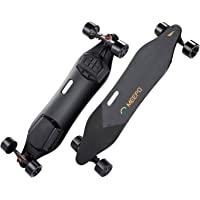 MEEPO Electric Skateboard & Longboard, 38inch Dual Motor Electric Skateboard with Remote Controller - 800 Watts Motors   11 Mile Range   29 MPH Speed   Up to 30% Grade Hill Climbing (Large)