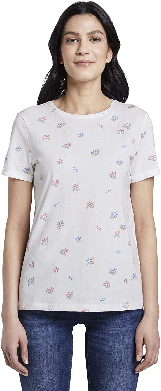 Tom Tailor Sommerprint T-Shirt Femme
