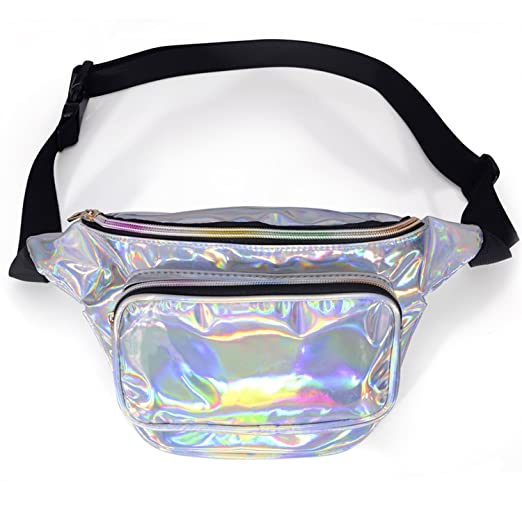 911c8589e4 LEADO Holographic Fanny Pack for Women