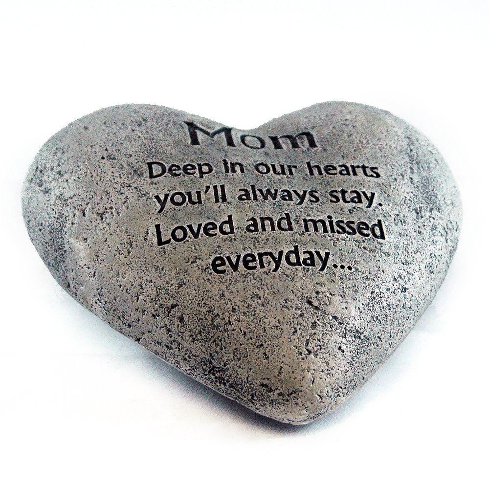 Gerson Heart Shaped Memory Stone for Mom