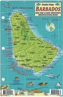 Barbados Travel Map International Travel Maps ITM - Barbados map