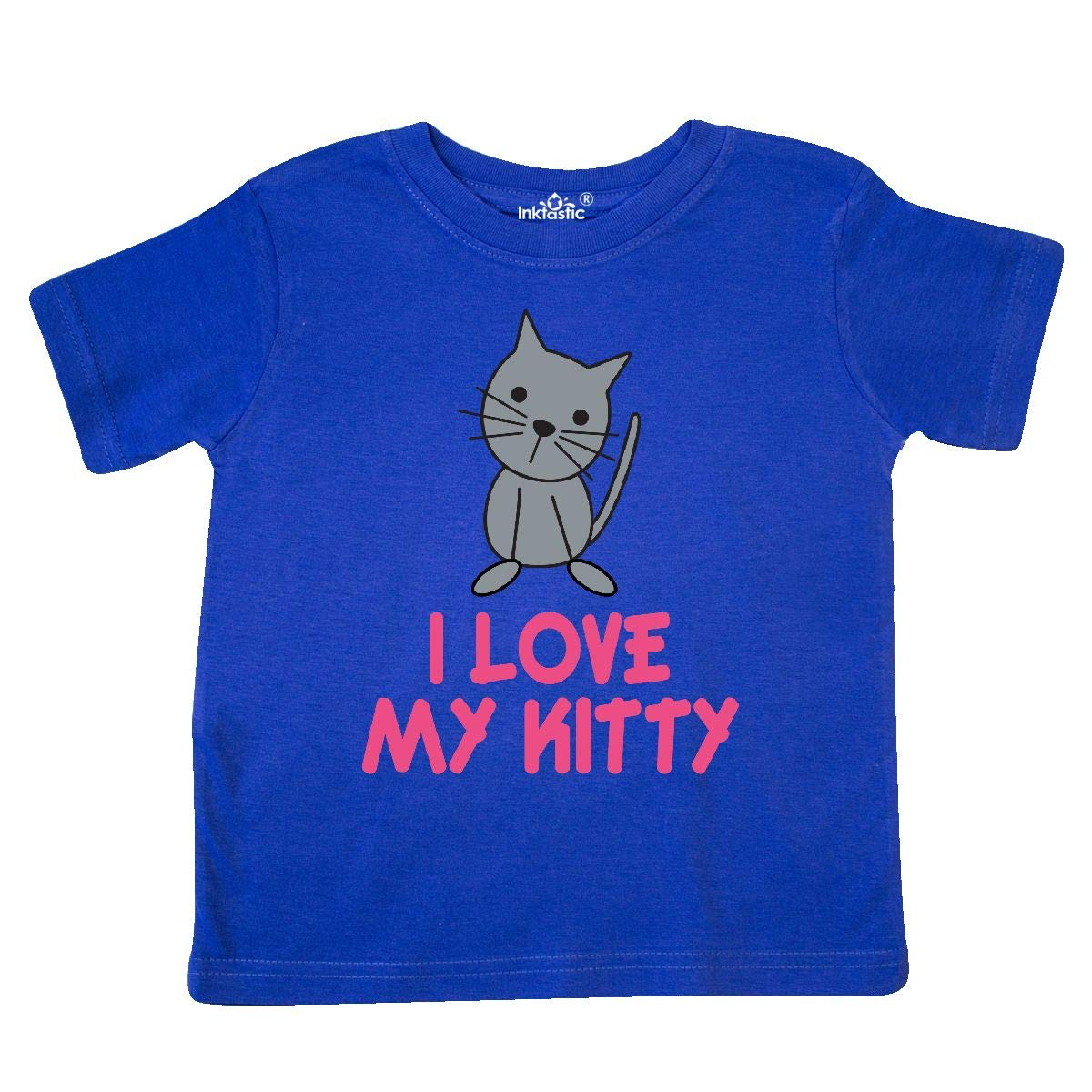 inktastic Cat Lover I Love My Kitty Toddler T-Shirt