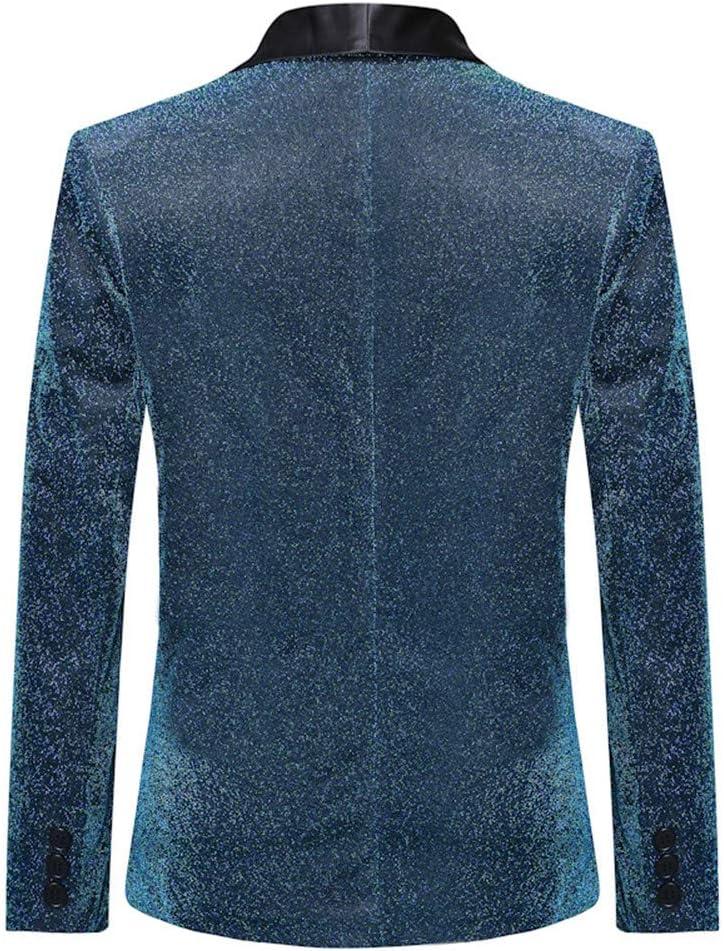 LSYGB Herrenanzug Jacken Blazer Gesch/äftsleben Hochzeit Tuxedo stilvoller und einfach Kontrast-Farben-Stitching M/änner Casual Stoff Anzug