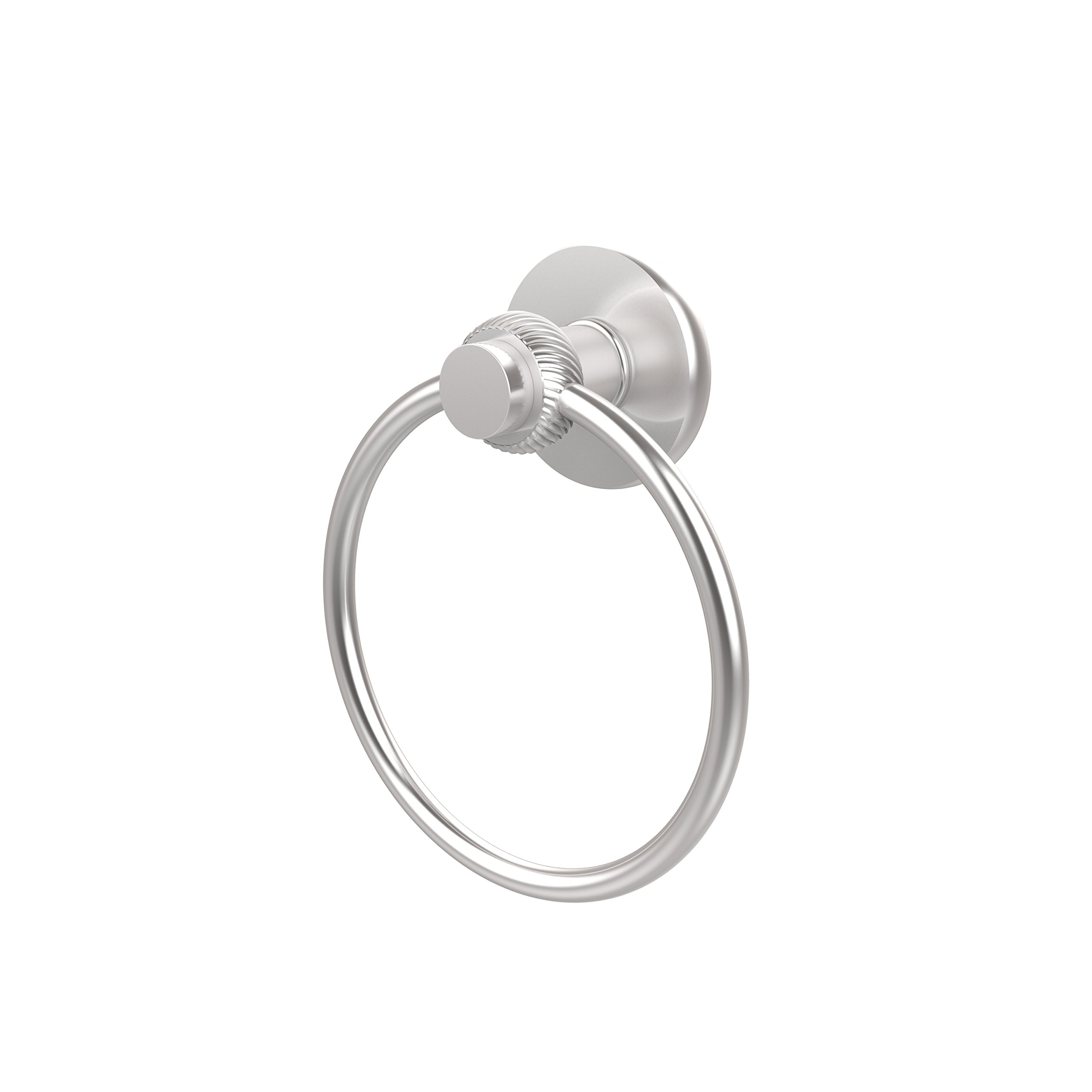 Allied Brass 916T-SCH Towel Ring, Satin Chrome
