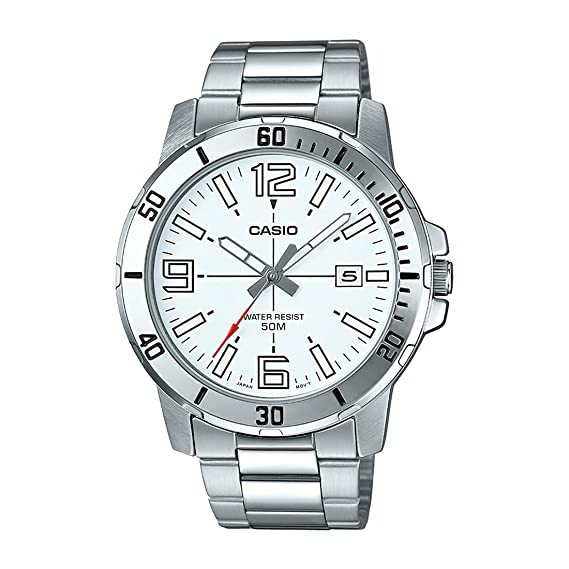 Casio MTP-VD01D-7BV - Reloj Deportivo analógico Casual para ...
