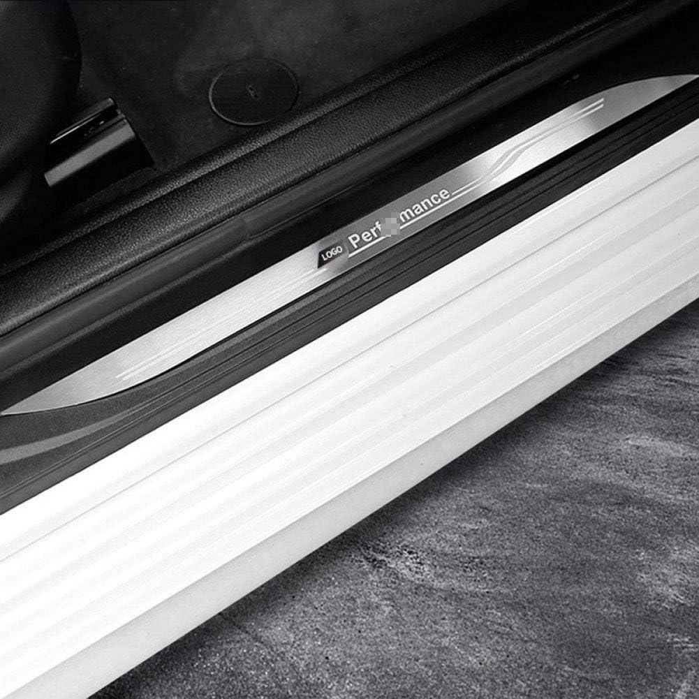 NA Edelstahl Autot/ür Welcome Pedale Einstiegsleisten Verschlei/ßblech Zubeh/ör , f/ür BMW X1 X3 X5 X6 E60 E90 F25 F30 F32 F34 F35
