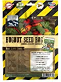 Sustainable Seed Survival Heirloom Seed Bag  Non-GMO Heirloom Seeds for Long-Term Storage or Instant Garden, 25 Varieties