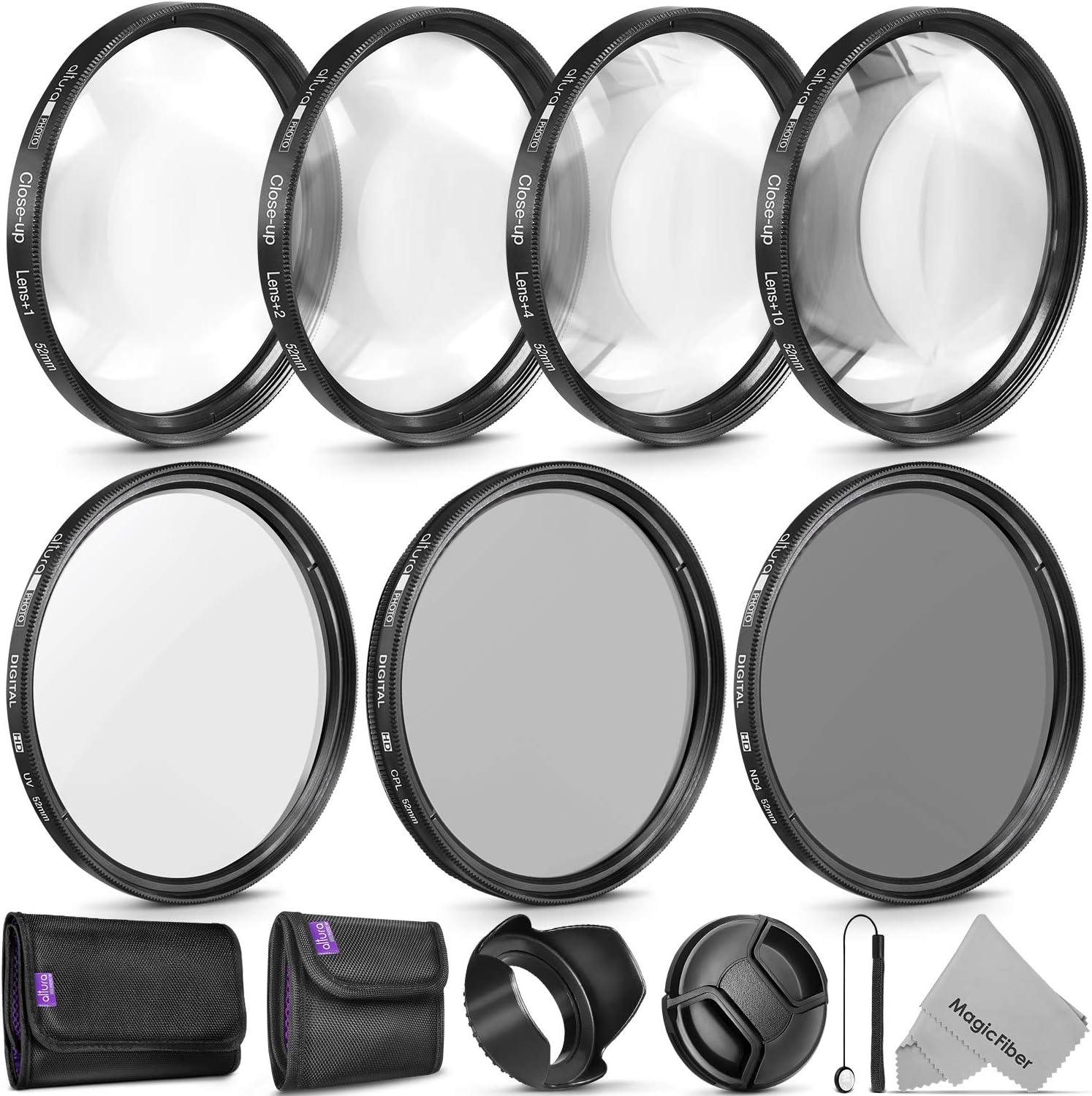 Upgraded Pro 52mm HD MC UV Filter Fits 52mm UV Filter 52 mm UV Filter Nikon AF Nikkor 28mm f//2.8D 52mm Ultraviolet Filter