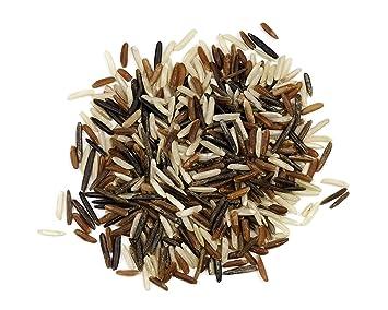 Wild Bolsa de mezcla de arroz – 25 lb: Amazon.com: Grocery ...
