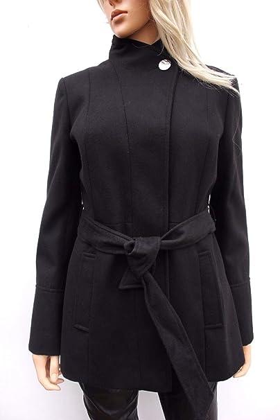 Oasis Damen Trenchcoat Mantel Gr. 36, schwarz: