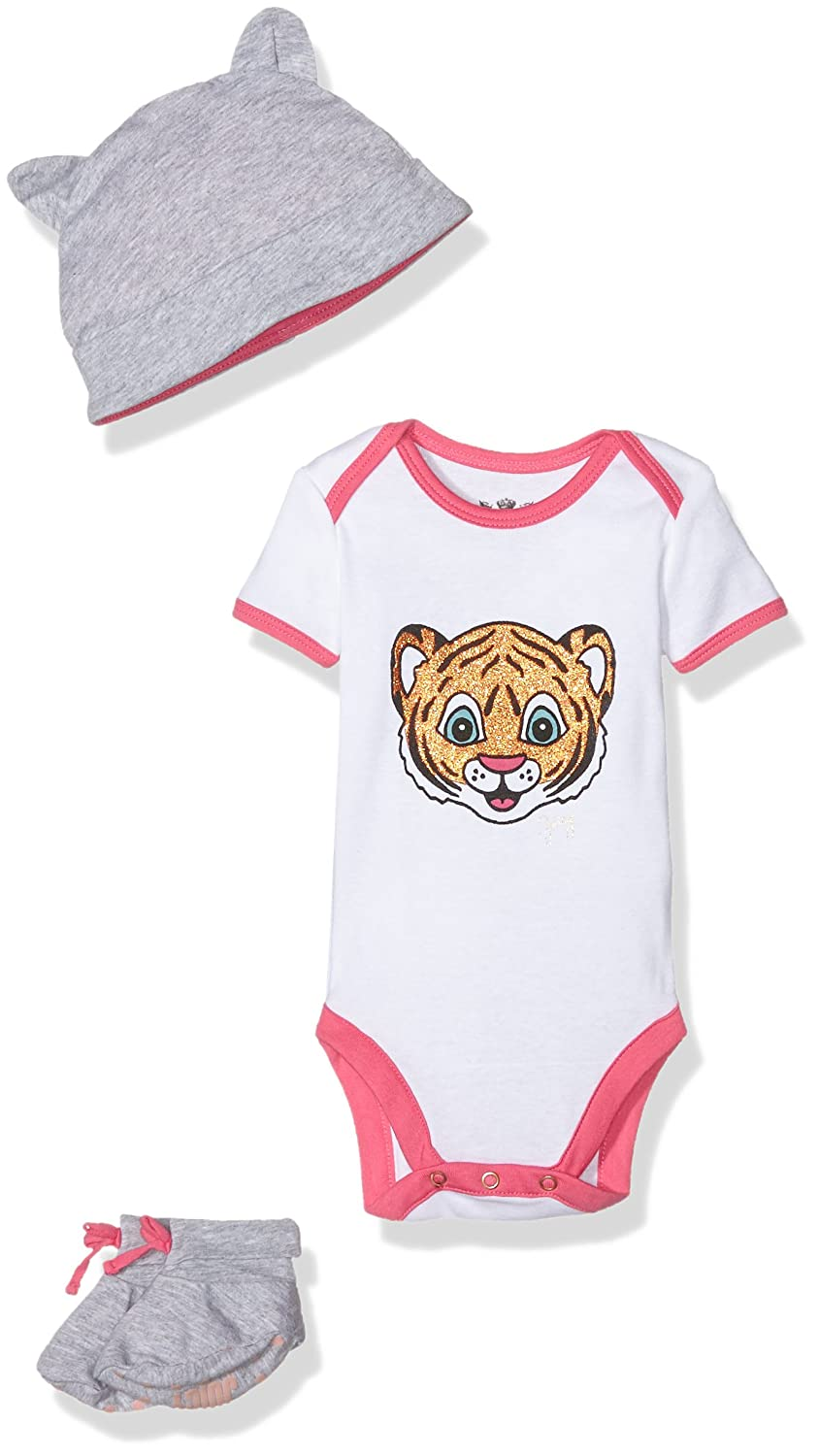 Juicy Couture Baby-Mädchen Body Knt Bodysuit Set