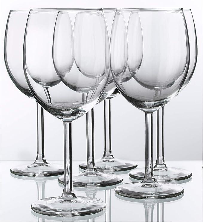 Amazon Com Red Wine Glass By Ikea Svalka Series Set Of 6 10 0z Wine Glasses
