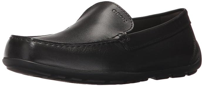 Geox J New Fast B, Mocassins (Loafers) Garçon, Noir (Black C9999), 31 EU