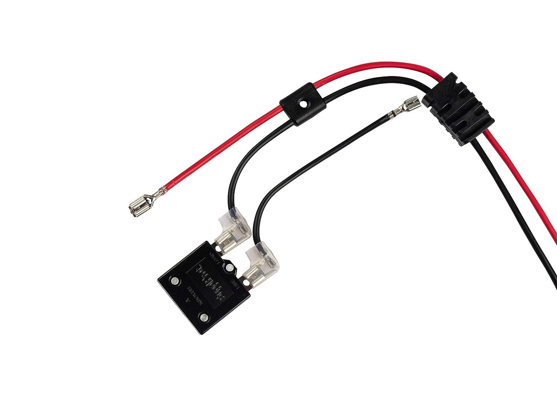 Amazon.com: X PWR 12 voltios batería arnés de cableado de ...