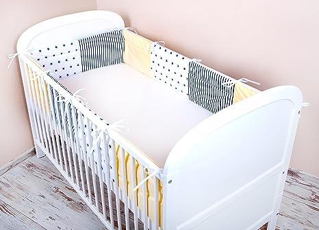 Tour de lit bébé Amilian® - 420 x 30 cm, 360 x 30 cm, 180 x 30 cm ...