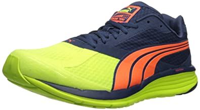 PUMA Men s FAAS 700 V2-M Yellow Insignia Blue Fluorescent Peach 42fce9dcb