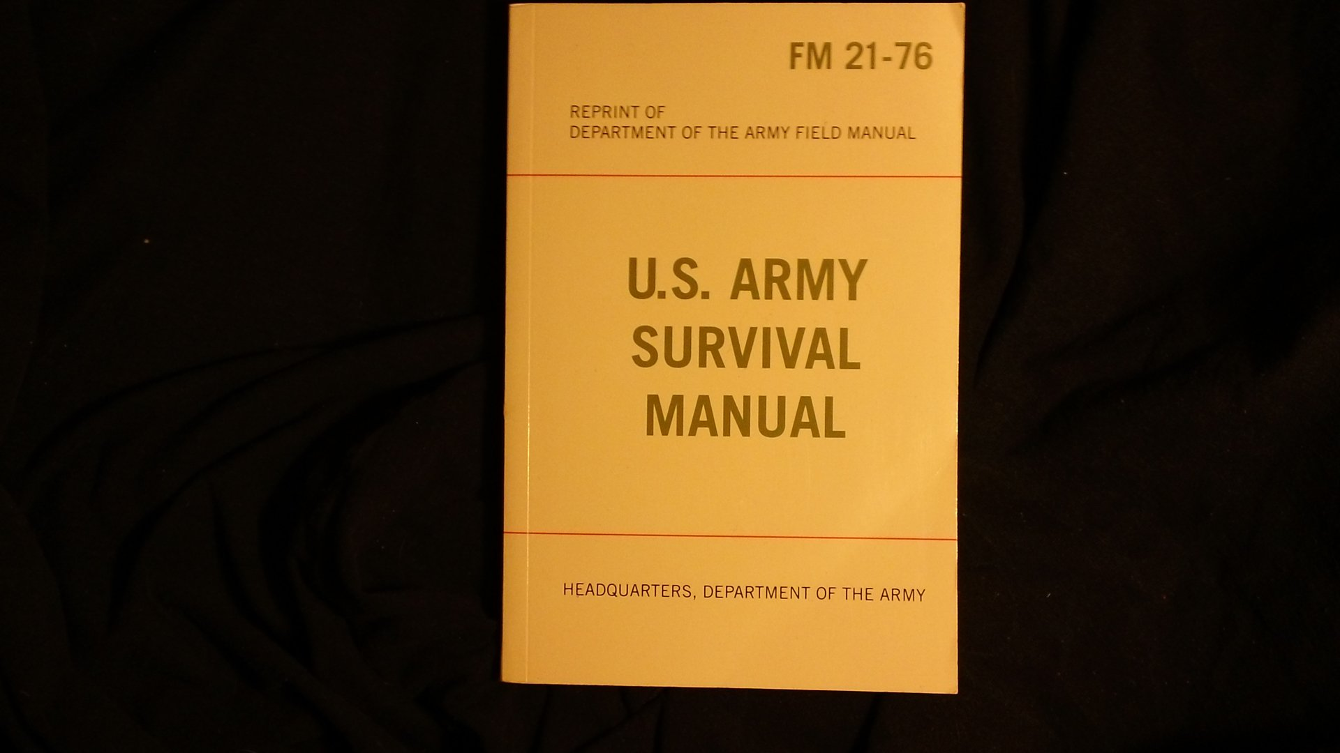 U.S. Army Survival Manual (FM 21-76)