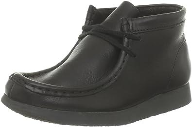 brand new bada4 365eb Clarks Originals kids Wallabee Boot 203517517_Noir (Black), Unisex - Kinder  Stiefel, Schwarz (Black), 32,5 EU