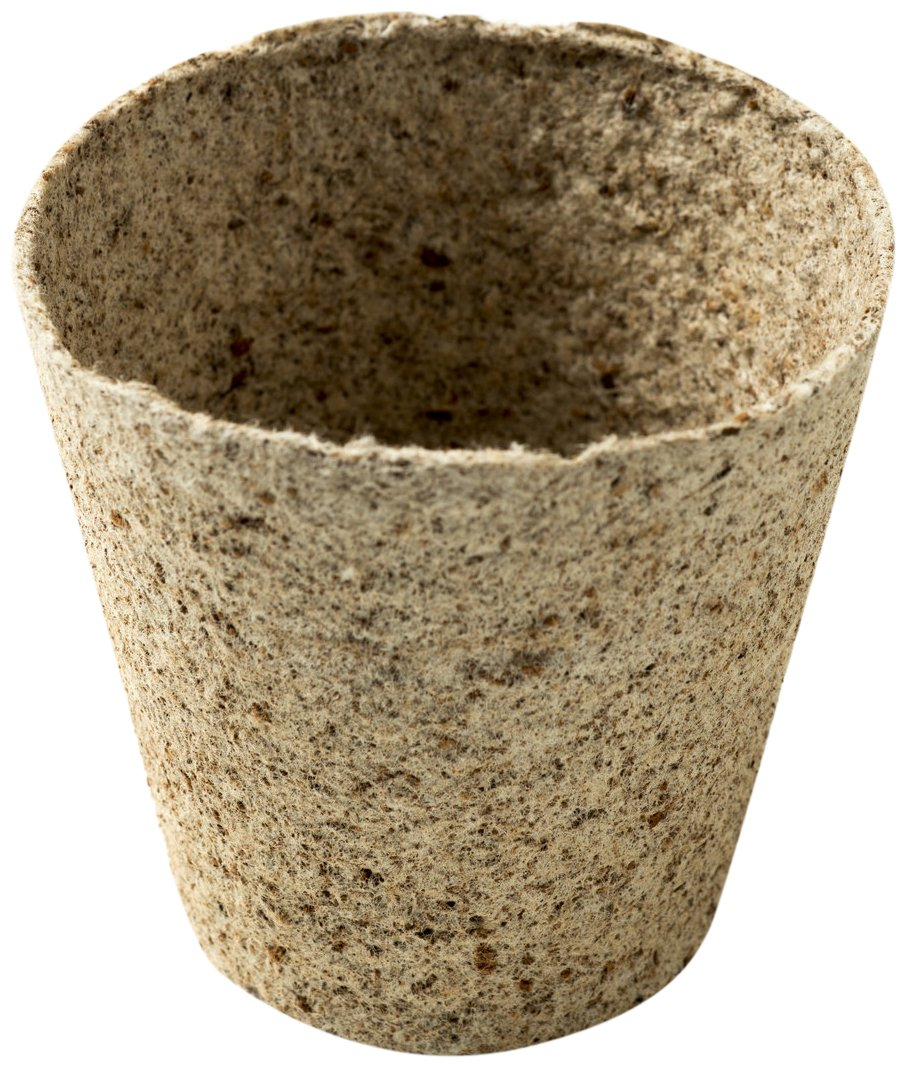 Nutley's 8 cm Fibre Plant Pots (Pack of 100) Nutley's n/a