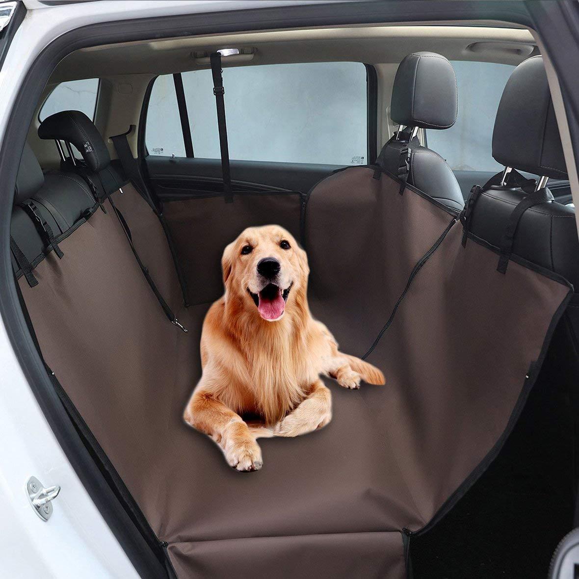 Heaviesk Doppelschichten Oxford Stoff Wasserdichte Haustier Auto Sitzbezug Hund H/ängematte Protector R/ückenmatte Pet Carriers Zubeh/ör