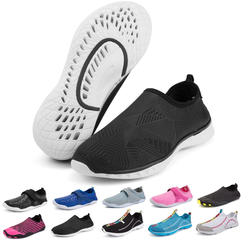 H 5.5 M US Women   4 M US Men Bridawn Mens Womens Water shoes, Quick Dry Barefoot Sock Aqua Sport shoes