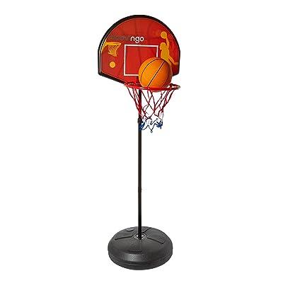 Moov\\\'ngo Panier de basket 2 en 1 avec cible