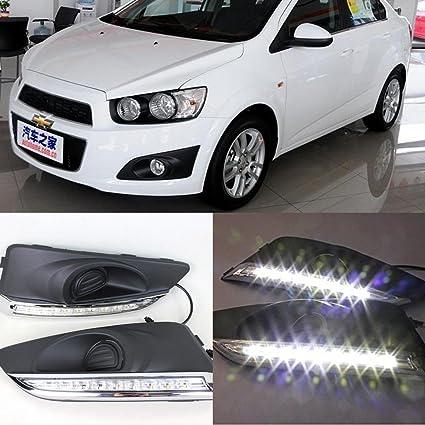 Amazon Auto Tech 1set Car Led Light Daytime Running Light