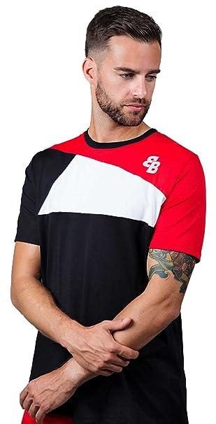 Camiseta Chico Rojo-Blanco-Negro M/C para Tenis Y Padel - XL: Amazon.es: Ropa y accesorios