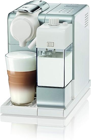 Nespresso DeLonghi Lattisima Touch Animation EN560.S - Cafetera monodosis de cápsulas Nespresso con depósito de leche, 6 recetas seleccionables, 19 bares, apagado automático, color plata: Amazon.es: Hogar