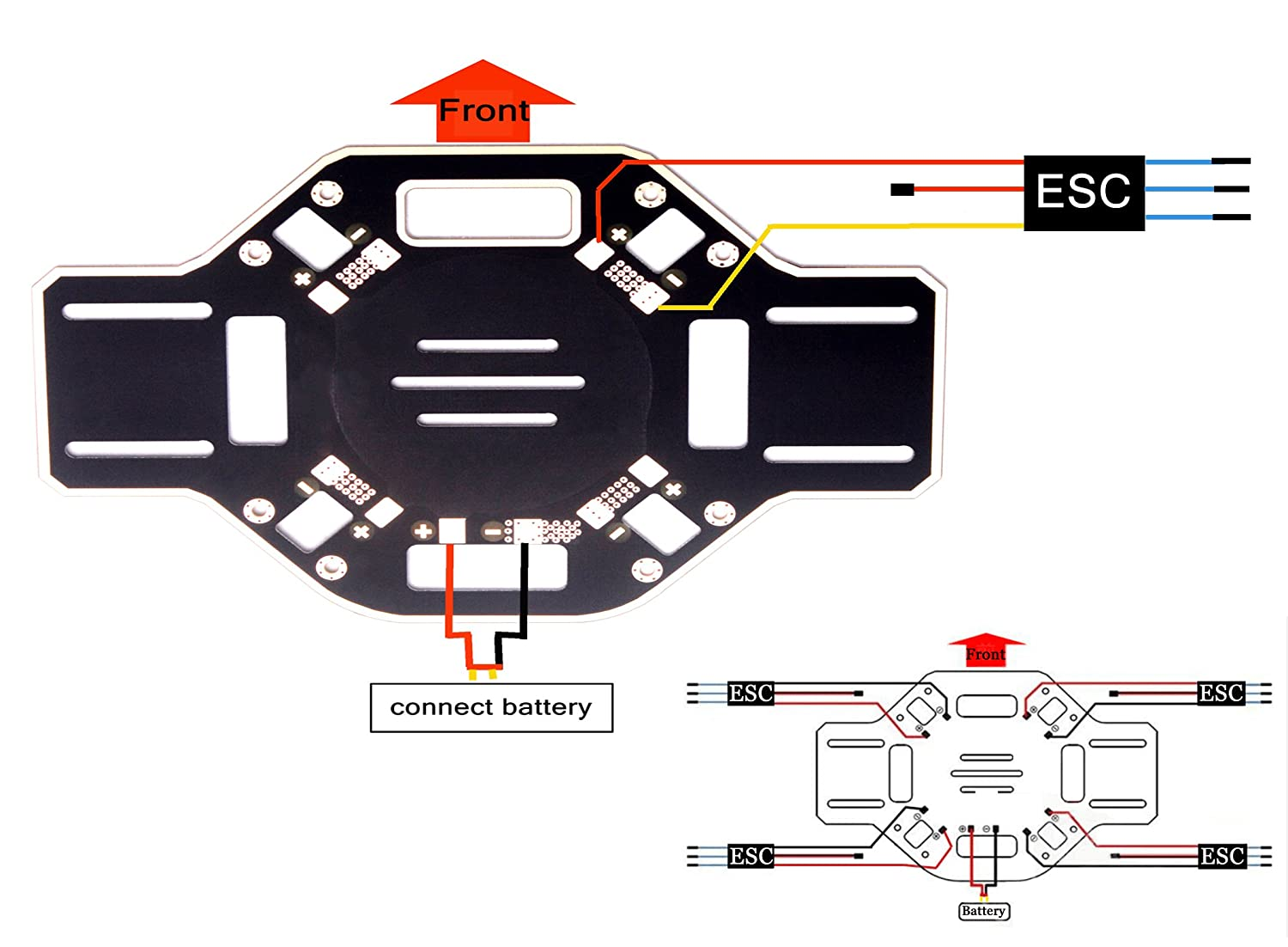 F450 Quadcopter Wiring Diagram Of Libraries Flame Wheel 450 Quad Kit Third Level