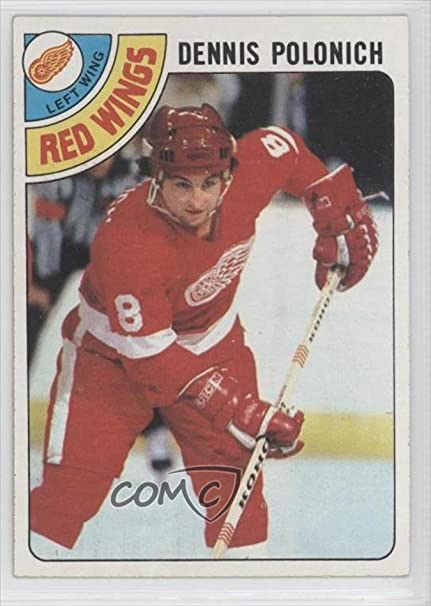 Dennis Polonich (Hockey Card) 1978-79 Topps #106: Amazon.ca: Sports & Outdoors