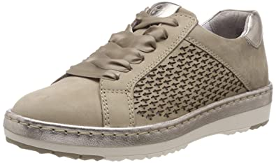 Tamaris Damen 1 1 23712 22 324 Sneaker, Braun (Pepper 324
