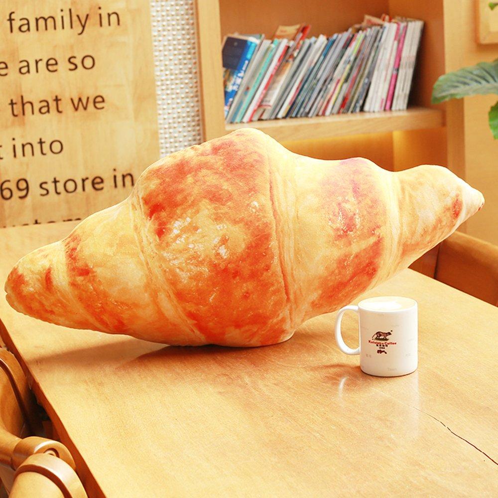 リアルな パン クッション 食べ物 そっくりな 抱き枕 大きい 枕 インテリアにも (80cm)