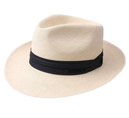 91bfb3e43214b Stetson - Fedora Hat men Jenkins Panama - Size 55 cm - 7-paille ...
