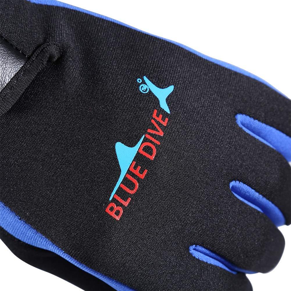 Neoprene Gloves Wet suit Anti-Slip Flexible Scuba Double-Lined Sport Gloves for Diving Diving Gloves