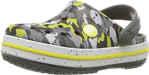 crocs Kids Crocband Camo Speck Clog K