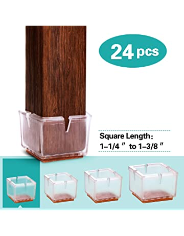 Clever Promotion Furniture Parts 4pcs Transparent Chair Leg Cap Floor Feet Protectors Pad Furniture Table Cover Home Furniture