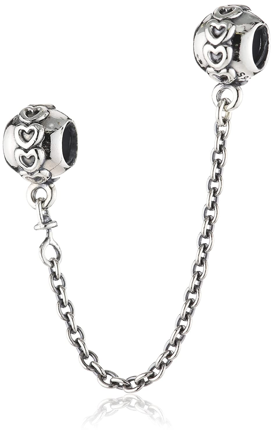 amazon com pandora love connection safety chain in 925 sterling