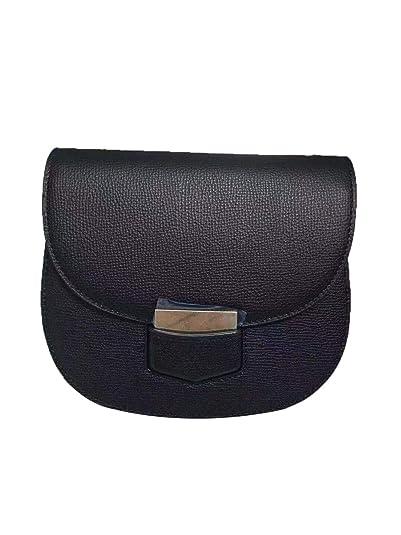 582f9d073 FB- Celine Small Trotteur Magnolia Grained Calfskin Crossbody Bag for women  new (black)