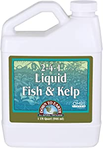 Down to Earth Liquid Fish & Kelp 2-4-1, 1 Quart