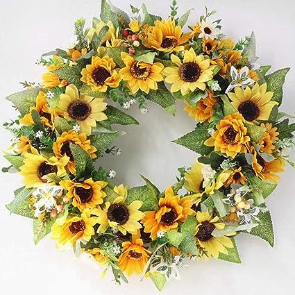 Autumn Wreath Farmhouse Wreath Rustic Wreath Sunflower Wreath Fall Wreath Front Door Wreath Grapevine Wreath
