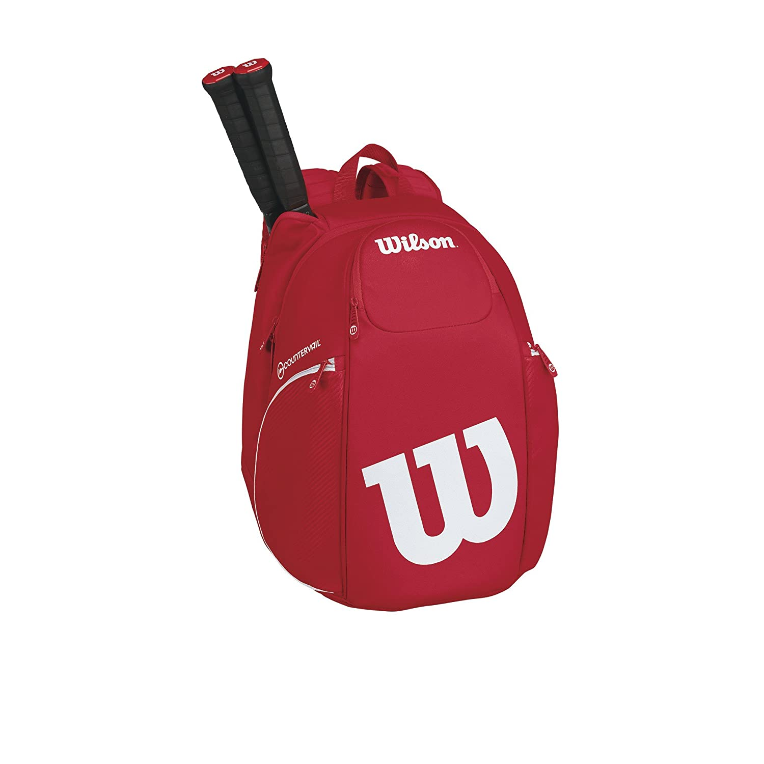 Backpack Red//White Wilson Vancouver Racket Bag Pro Staff Collection