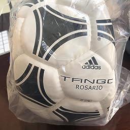 adidas Tango Rosario Soccer Ball, Hombre, Blanco (Blanco/Negro ...