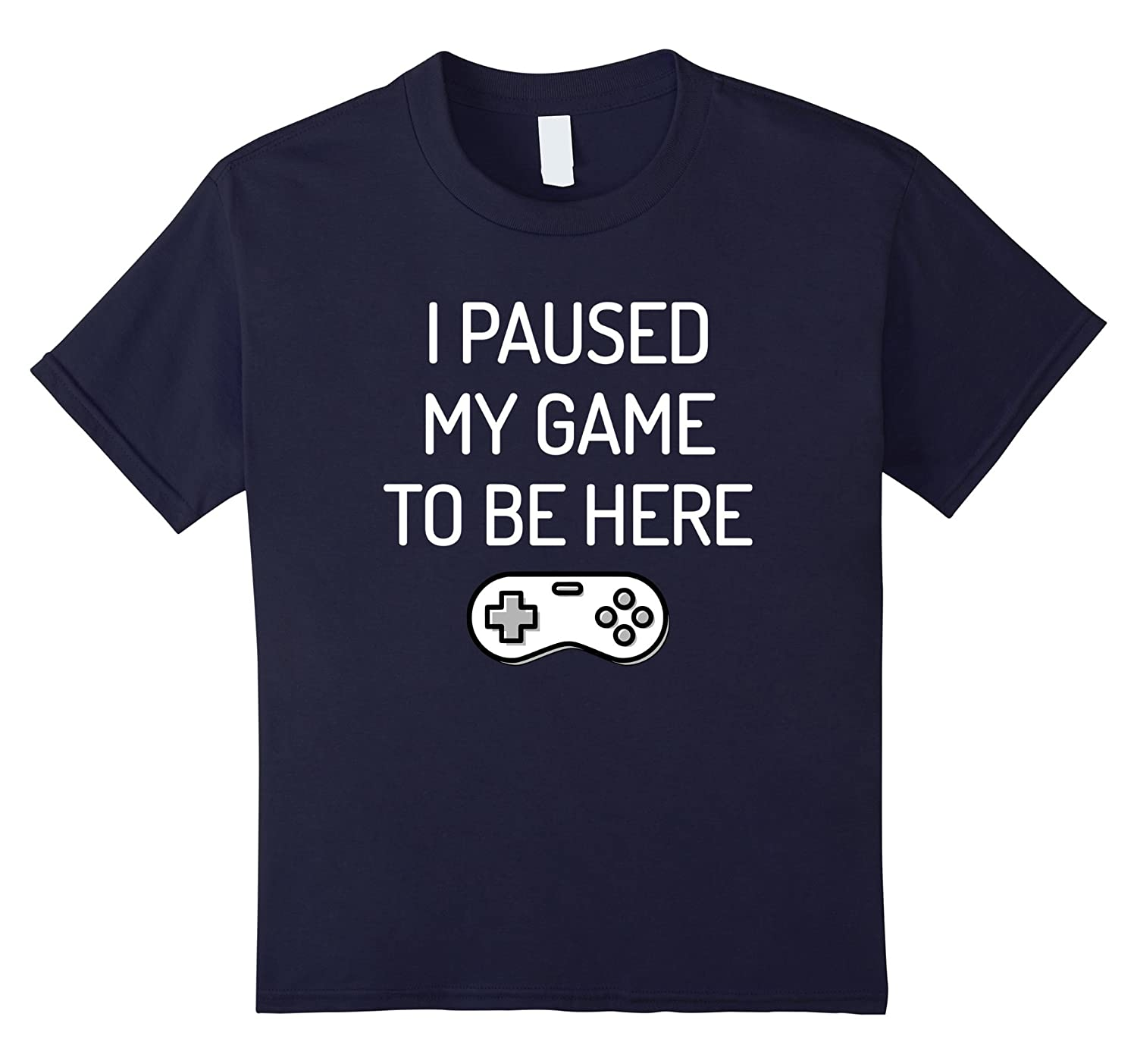 Paused T Shirt Funny Gamer Small-Tovacu